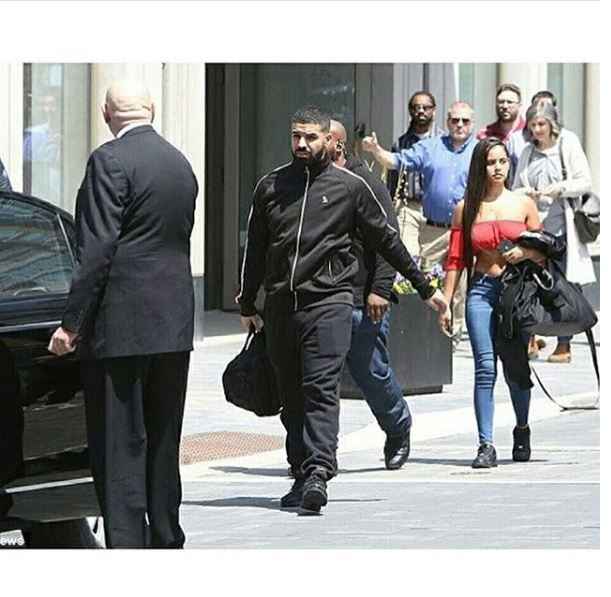 Drake spotted out with rumoured new girlfriend Malaika Terry & she's gorgeous (Photos)