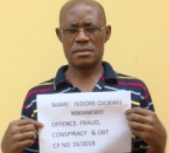 Dr.?Isidore Ojukwu arrested for operating?Illegal polytechnic in Enugu State