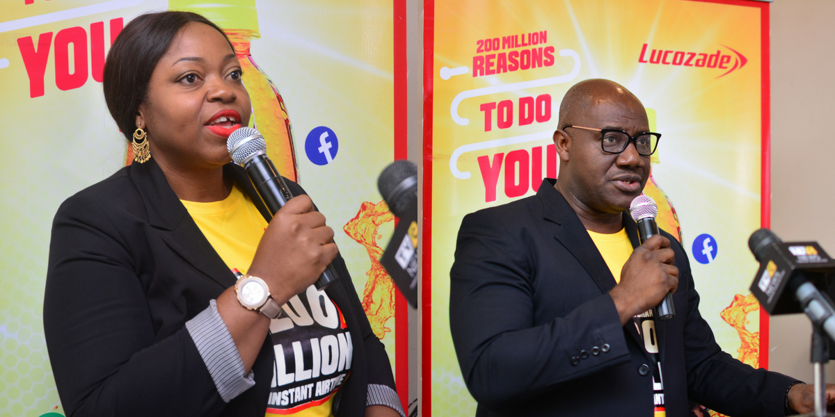 Recharge your body and phone in the Lucozade Airtime Promotion