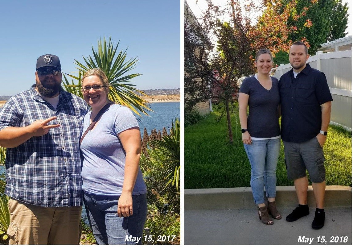 See the amazing transformation of this overweight couple
