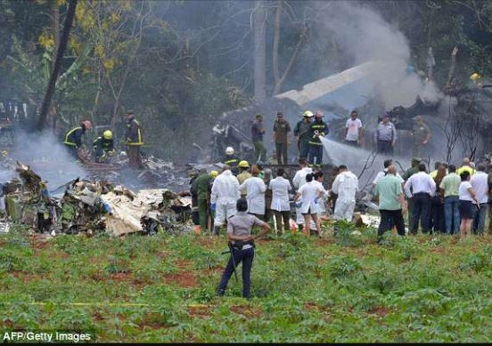 Over 100 people?killed as Cuban Boeing 737 carrying 113 passengers and crew explodes moments after taking off from Havana airport??