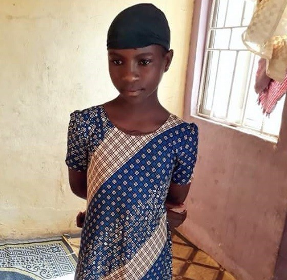 Who knows this young girl or her family? She has been at Zaria Children