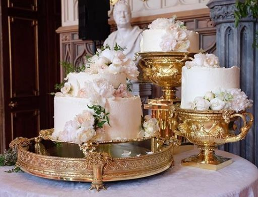 Check out the cake for Prince Harry and Meghan Markle