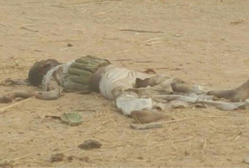 Nigerian army neutralise 2 female suicide bombers who attempted to infiltrate troops?in Konduga