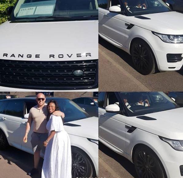 Photos: Prophetess Olubori acquires brand new ?60,990?Range Rover SUV in London