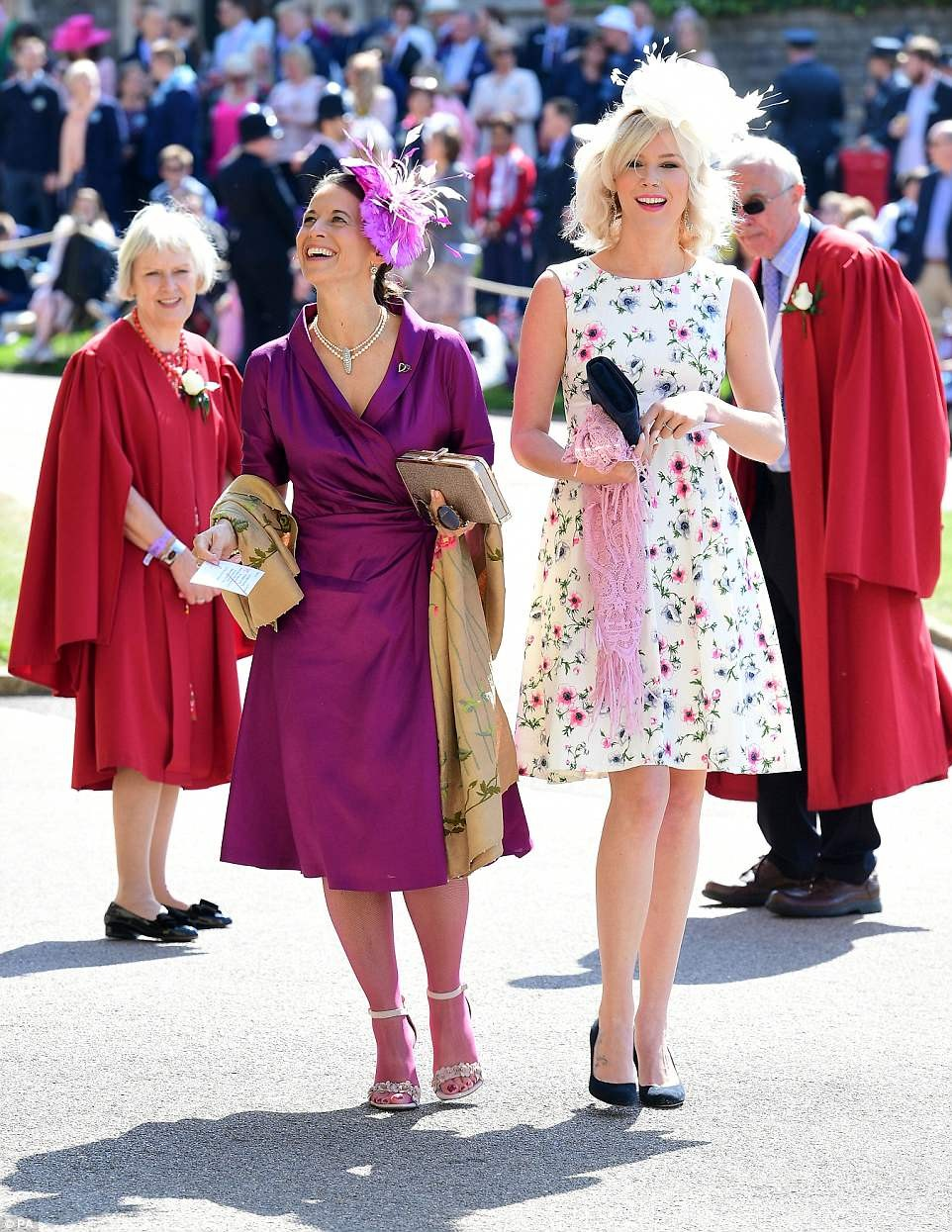 Here are the best-dressed celebrities at the Royal Wedding ?(Photos)