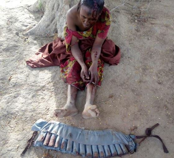 Courageous civilians prevent a female Boko Haram?suicide bomber from blowing up a mosque in Yobe State