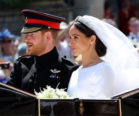 Over?29 million people?watched Prince Harry and Meghan Markle