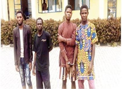 4 passengers arrested in Ondo State for beheading an Okada rider