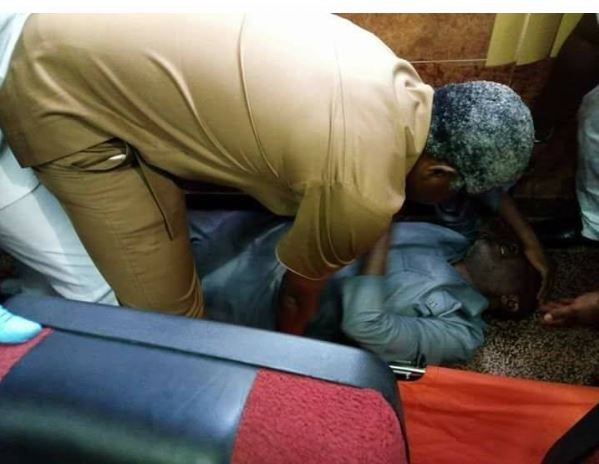 Breaking: Former PDP spokesperson, Olisa Metuh collapses In court (Photos)