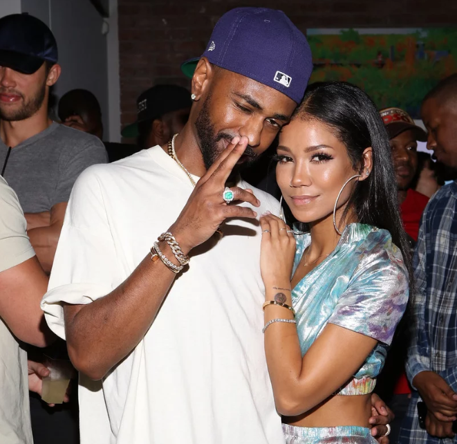 Jhene Aiko kicks Big Sean out of their house and covers up the tattoo of his face on her arm