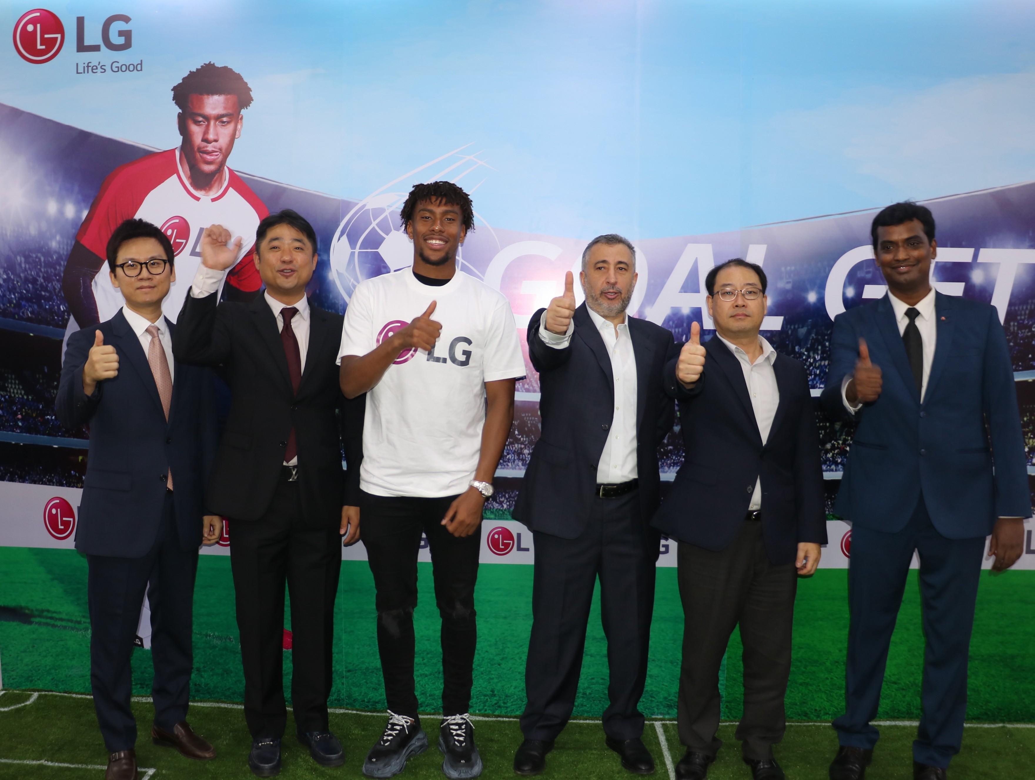 LG Electronics signs international football player, Alex Iwobi as brand ambassador