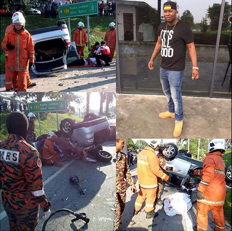 Nigerian student killed in fatal accident while returning from club in Malaysia