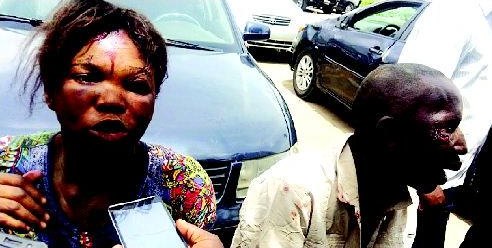 How mob rescued woman from suspected kidnappers and ritualists (photo)
