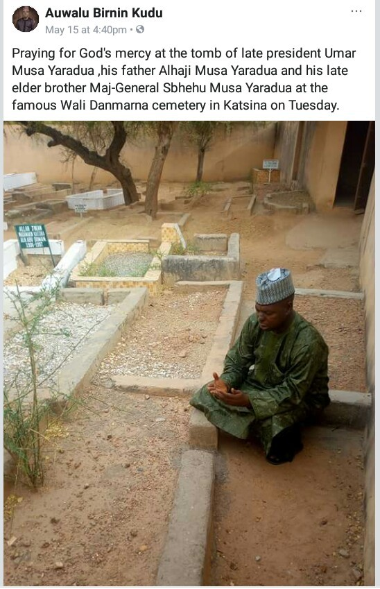 Man prays at the
