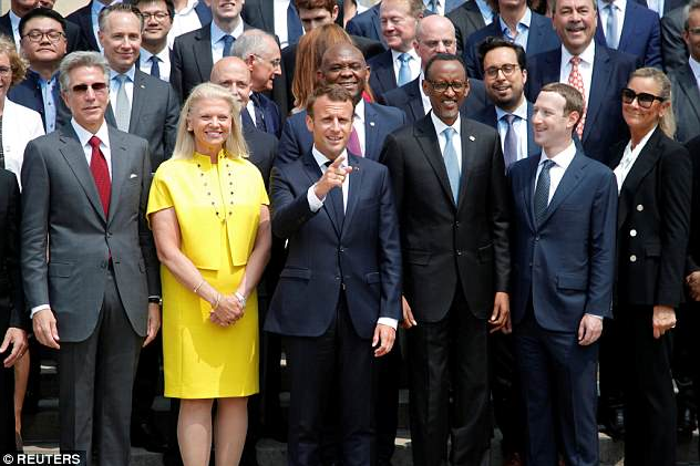 Mark Zuckerberg meets French President Emmanuel Macron to discuss France as an innovation centre for Europe