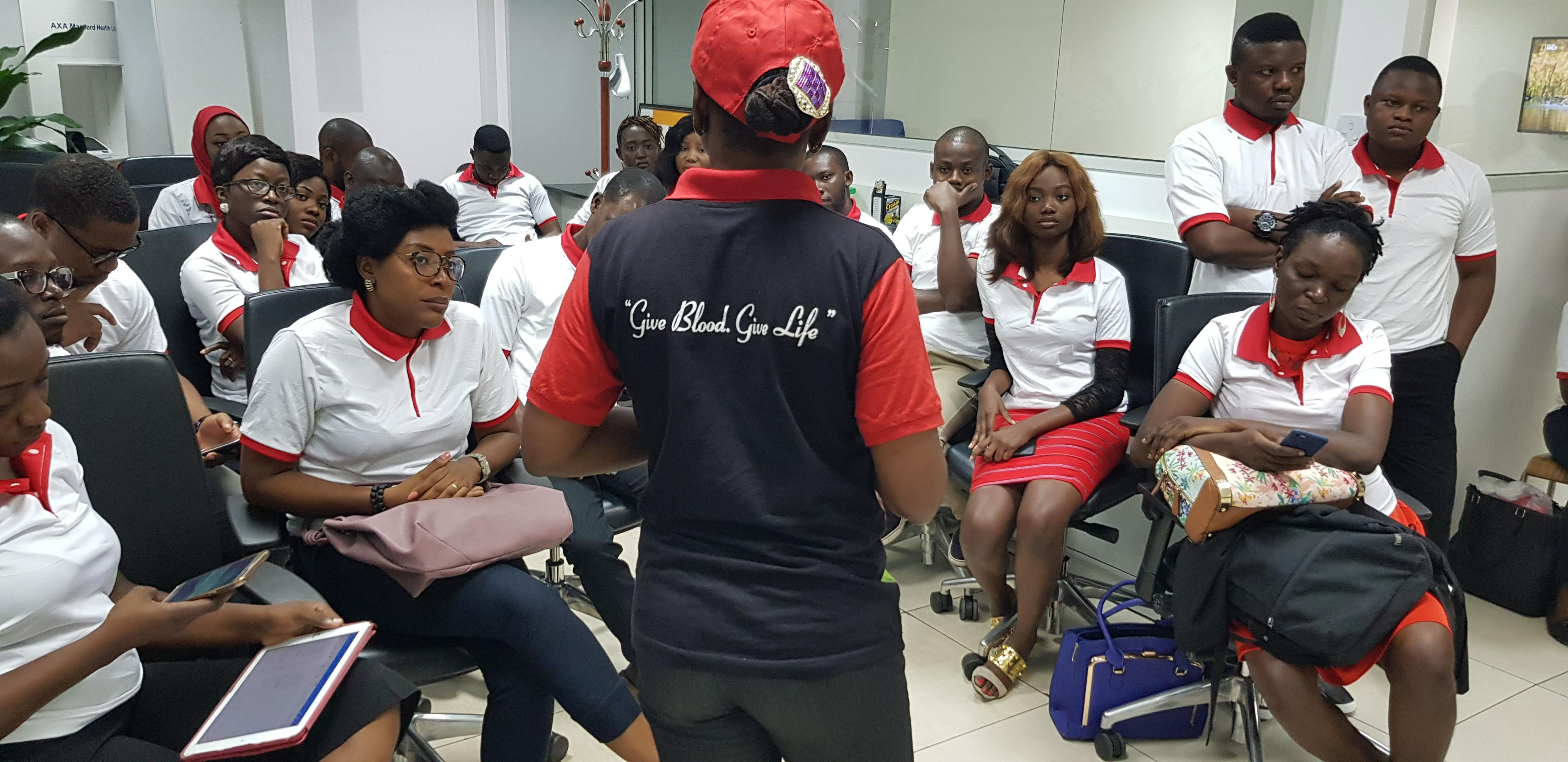 Nigeria: Novartis employees donate blood to save lives