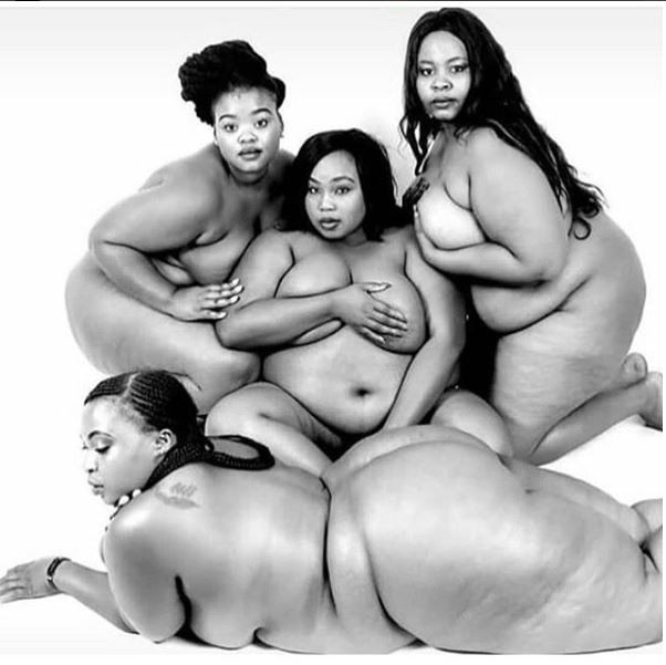 Bold plus sized women pose completely nude to celebrate their bodies but people are not feeling it ?+18
