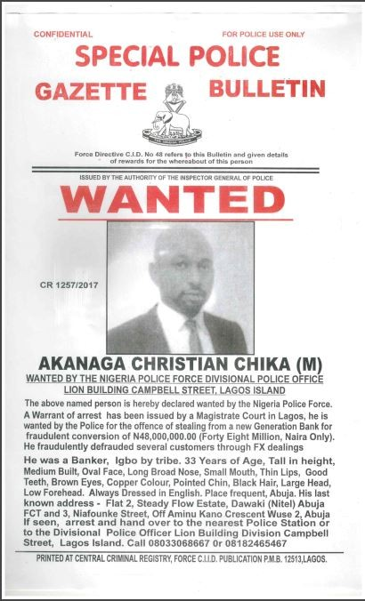 Police declare eight wanted over bank fraud (photos)
