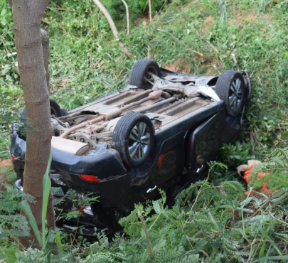 Baby boy in critical condition following car accident in Lagos caused by his mother