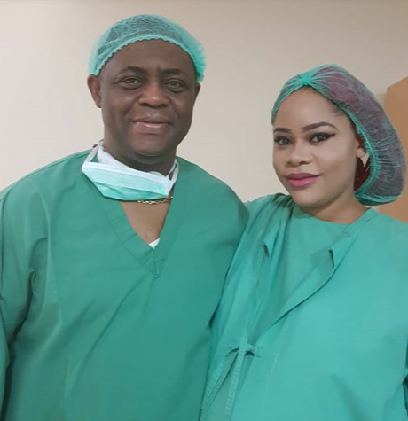 Femi Fani-Kayode and wife welcome their triplets, all boys, on her birthday