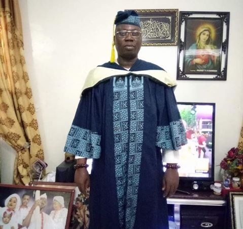 OPC leader, Gani Adams?graduates Lagos State University with a degree in Political Science