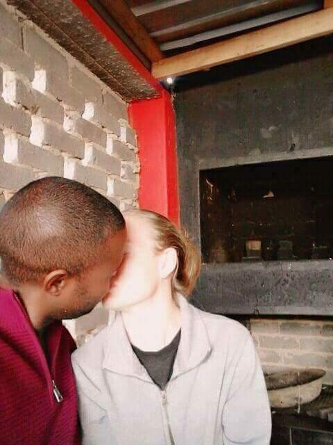 "Clean punani, no asking for money"" - South African man shares photos of his girlfriend, lists advantages of dating white women"