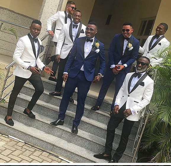 More photos of Footballer Emmanuel Emenike and Iheoma Nnaji at their wedding