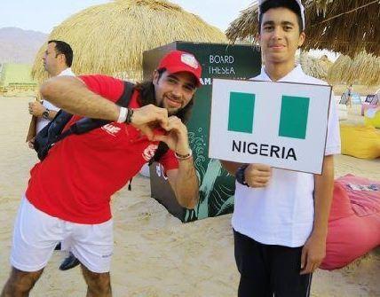 The Nigerian Water Ski and Wake-Board Federation make history in Jordan (Photos)