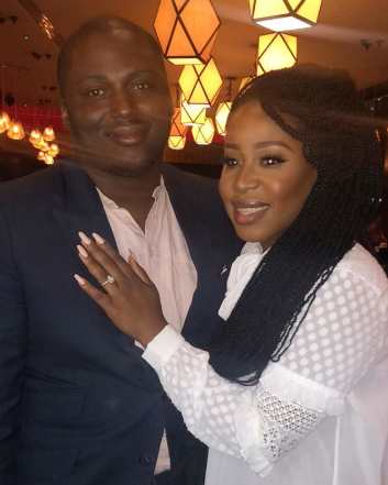 Top Nigerian MUA Joyce Jacob is engaged to billionaire son Eyinna Anumudu