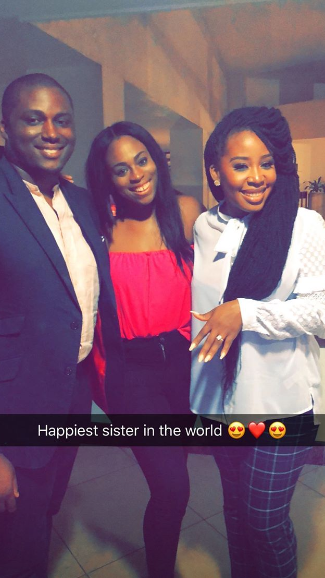 Top Nigerian MUA Joyce Jacob is engaged to billionaire son Eyinna Anumudu