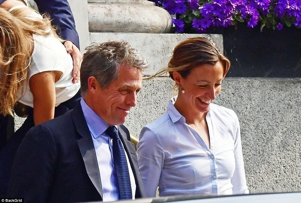 Actor Hugh Grant, finally gets married for the first time at 57 (photos)