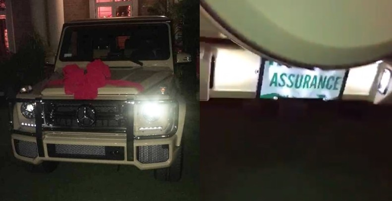 House of Reps Majority Leader, Femi Gbajabiamila buys wife N75m G-Wagon with a customized