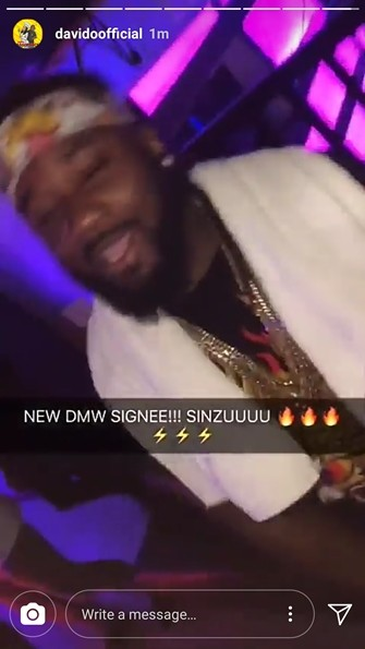 Davido signs Sauce Kid under his DMW Label months after his release from a US prison