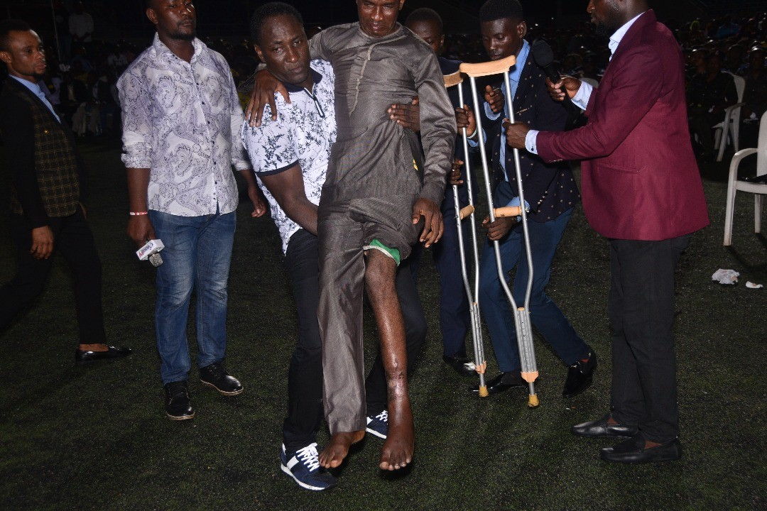 Crusade Highlights: Prophet Jeremiah Omoto Fufeyin flying in the cloud of God?s presence