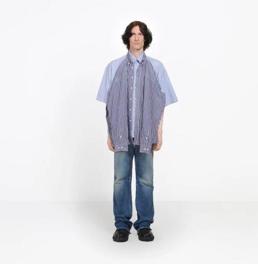 Fashion enthusiasts slam the new Balenciaga double T-shirt Shirt worth ?1,000