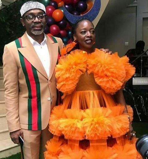 Nigerian senator, Femi Gbajabiamila rocked a ?$3,450 Gucci suit when he gave his wife a N75m G-Wagon for her 50th birthday