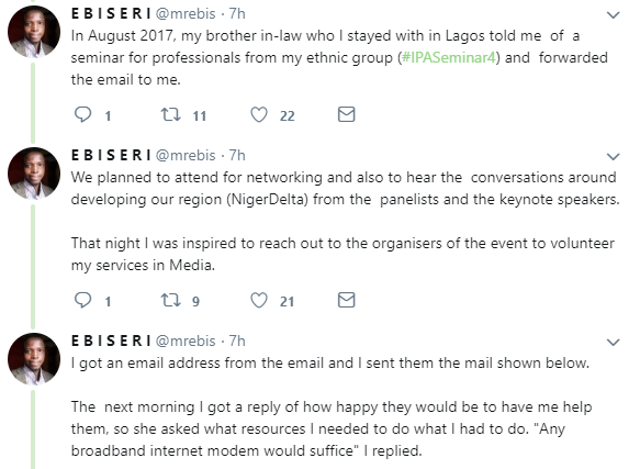Twitter story: Man narrates how he got a good Federal government job without  any connections or even applying