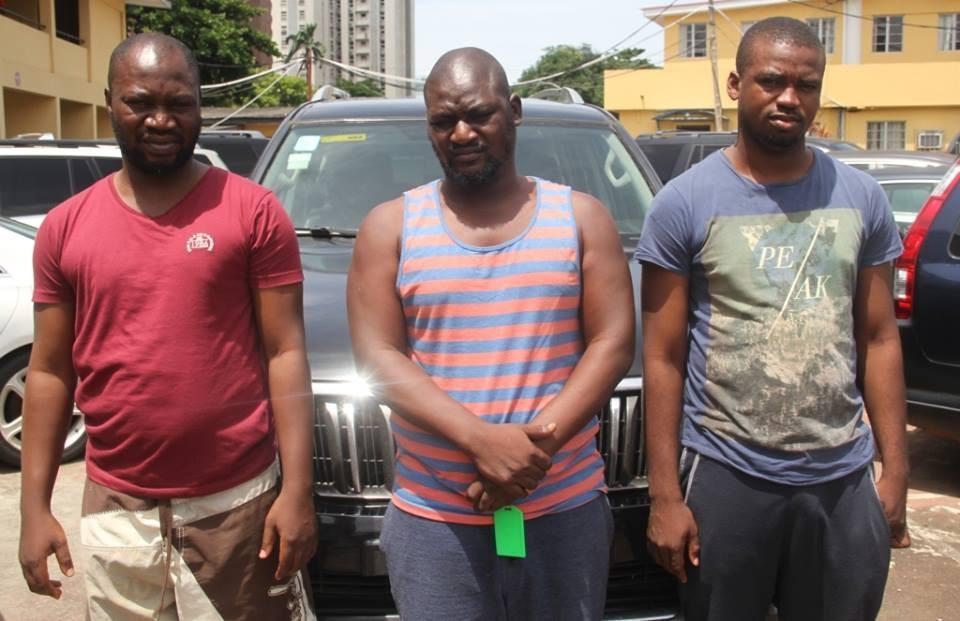 Photos: Three suspected