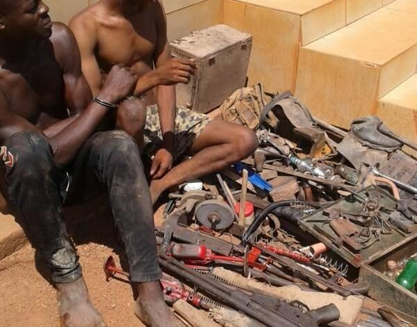 Photo:?Police arrest firearms ?fabricators? and??rapists? in Benue State