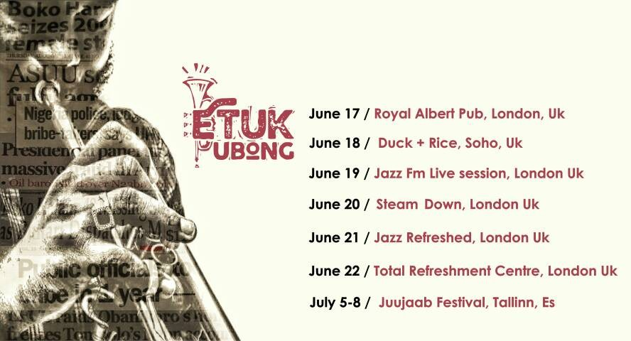 Nigerian prince of AfroJazz and world music, Etuk Ubong Releases new music video ?Black Debtors? and Europe tour dates!