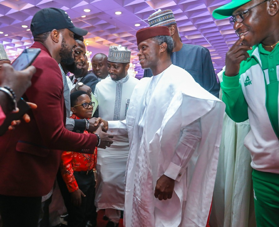 Photos from the democracy day dinner/gala attended by VP Yemi Osinbajo