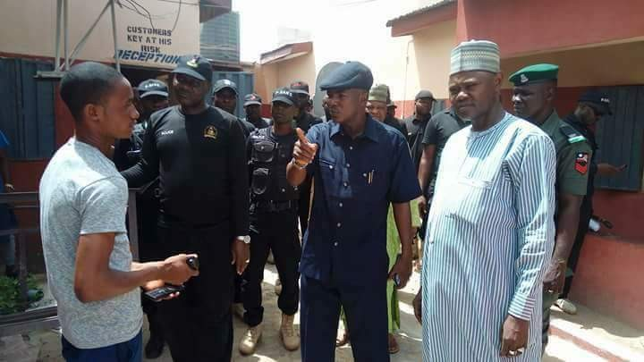 Photos: Borno state government raid hotels&night clubs in the state, arrest prostitutes and drug addicts