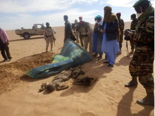 44 Nigerian and Ghanaian migrants die in Sahara Desert after their truck broke down (Photo)