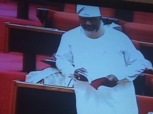 Update: Senate in rowdy session following