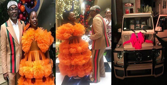 Lawmaker, Femi Gbajabiamila, reacts to backlash received after buying customized G-Wagon for his wife, says