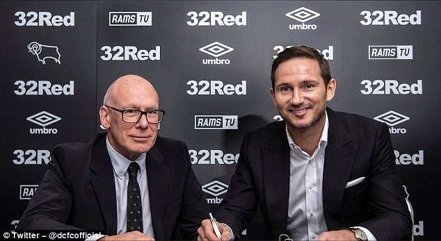 Chelsea legend Frank Lampard announced as new coach of Derby County? (Photos)