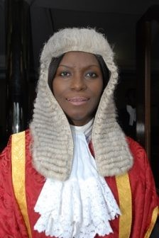 Photo: Meet the tough female judge that sent ex-governor, Jolly Nyame, to prison