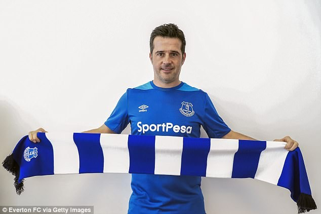 Everton confirms Marco Silva as new manager for the 2018-19 season.