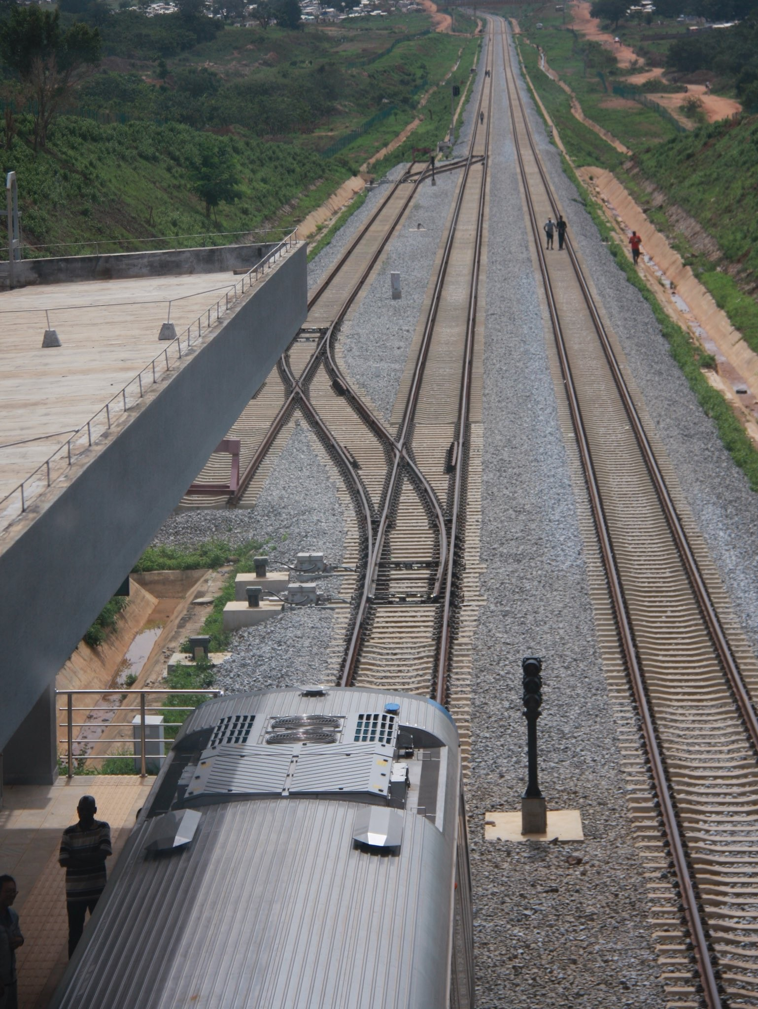 See pics of the Abuja metro line set to be commissioned by president Buhari
